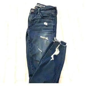 American Eagle low rise super stretch jeggings